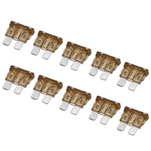 10pcs/set 7.5A Auto Fuse Coded Standard Blade Assorted Universal For Truck Boat Car Accessories