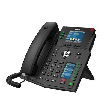Fanvil X4U telefon ip przedsiębiorstwo WiFi Bluetooth telefon bezprzewodowy obsługa IPv4 IPv6 telefon korporacyjny VoIP do konferencji biurowej tanie i dobre opinie BARTUN Rohs CN (pochodzenie) Voip telefon BTX4u Enterprise IP Phone VOIP Phone VOIP Phone Wireless Wireless IP Phone VOIP Phone For Business