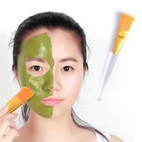Brocha cosmética de 2 colores, brochas para maquillaje de fibra, cepillo de mezcla de barro, mascarilla, herramientas para el cuidado de la piel