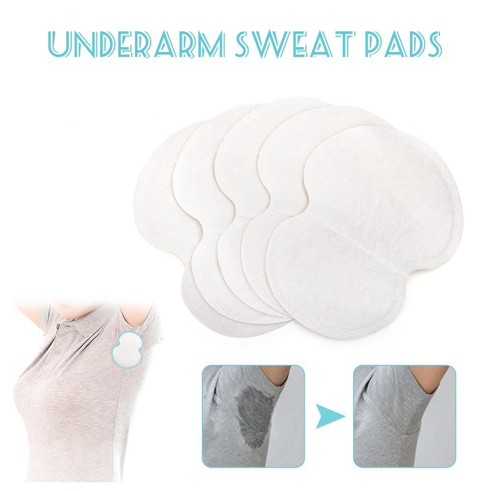 10/20/30/50pcs Underarm Dress Clothing Armpit Care Sweat Scent Perspiration Pad Shield Absorbing Deodorant Antiperspirant