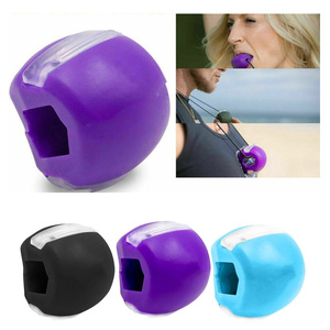 Face Fitness Ball Facial Toner Exerciser Anti-Wrinkle Exercise Facial Toner Jaw Exerciser Neck Facial Muscle Trainer Toning