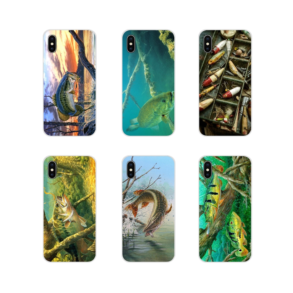 Accessories Phone Cases Covers For Samsung A10 A30 A40 A50 A60 A70 Galaxy S2 Note 2 3 Grand Core Prime Fishing gear fish