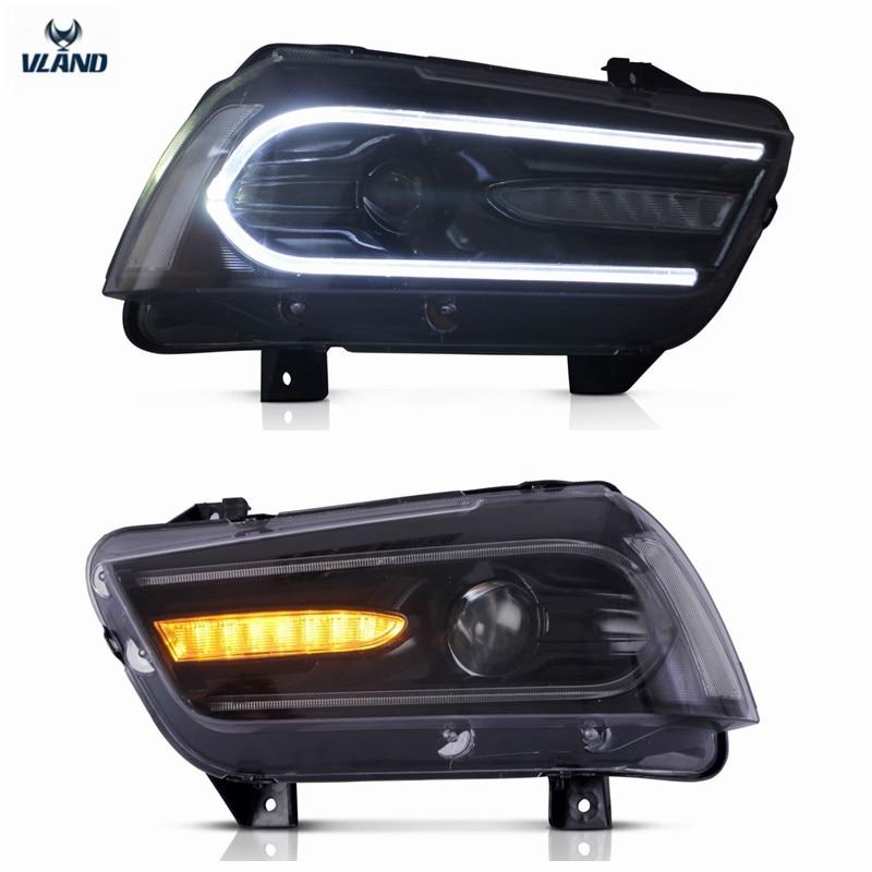 VLAND Tvornički dodaci za auto LED svjetla za punjač LED prednja - Svjetla automobila - Foto 3