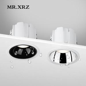 Image 1 - MR.XRZ 10W IP44 Wasserdichte Led strahler 220V zu 240V Einbau COB Decke Flecken Lampen Für Bad Küche innen Beleuchtung