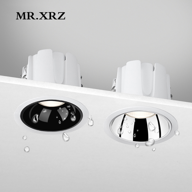 MR.XRZ 10W IP44 Wasserdichte Led strahler 220V zu 240V Einbau COB Decke Flecken Lampen Für Bad Küche innen Beleuchtung