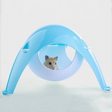 Hamster House Hamster Space Pod Dual-Use Plastic Hamster Cage Hammock Small Animal Space