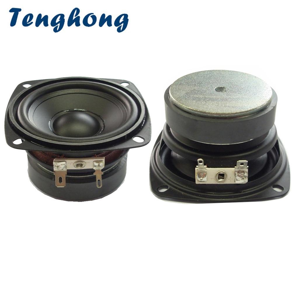 Tenghong 2 шт., 3-дюймовый Водонепроницаемый Bluetooth динамик для ванной комнаты, 4/8 Ом, 15 Вт