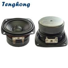 Tenghong 2pcs 3 Inch Waterproof Portable Audio Speaker 4/8Ohm 15W Full Range Bluetooth Speaker Unit Bathroom Outdoor Loudspeaker