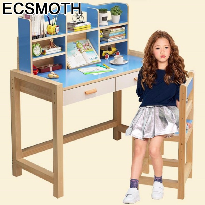And De Estudo Toddler Children Avec Chaise Silla Y Infantiles Adjustable Kinder Mesa Infantil Bureau Enfant Study Table For Kids