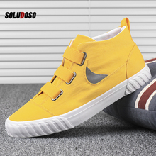 Youth Spring  High Top Sneakers Men Flats Casual Shoes Male Canvas Shoes Plimsolls Espadrilles Man Trainers Zapatillas Hombre men high top vulcanized sneakers casual flat shoes male canvas shoes plimsolls espadrilles man trainers zapatillas hombre