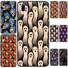 LJHYDFCNB Ghost ghost fire Black TPU Soft Phone Case Cover For VIVO V11 9 7 5 5S 11I V11PRO V7 7PLUS Y31 ghost omnibus volume 5