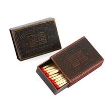Caixa de fósforos retro do cigarro do metal da anti-pressão portátil 57*36*13mm