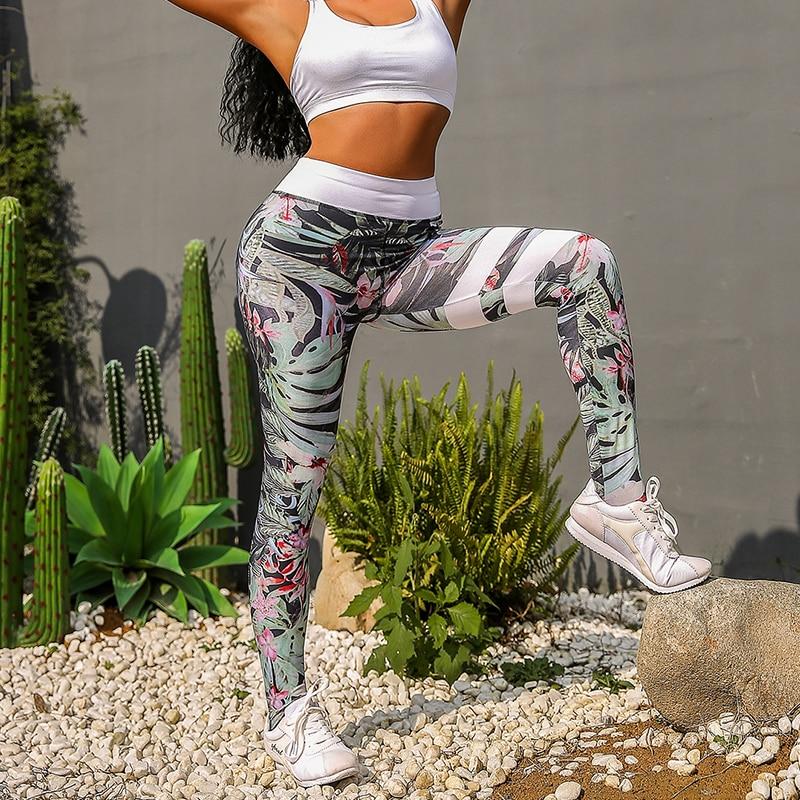 New Rainforest Print Women Sport Leggings Fitness Feminina Gothic Legging Push Up High Waist Leggins High Elastic Gym Joga Pants