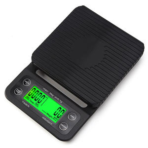 Coffee-Scales Baking Tare-Function Digital And for with Lcd-Display Lcd-Display
