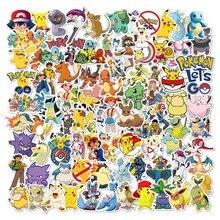Pokemon Originales Tattoo Stickers 100PCS Action Figure Surprise Cartoon Kids Girls Christmas lols Birthday Gifts Pokemon Sticke
