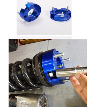 New 4x4 pickup 32mm aluminium Front Coil Strut Shock Spacer Lift Kit for D-max 2012+ /Colorado 2012+
