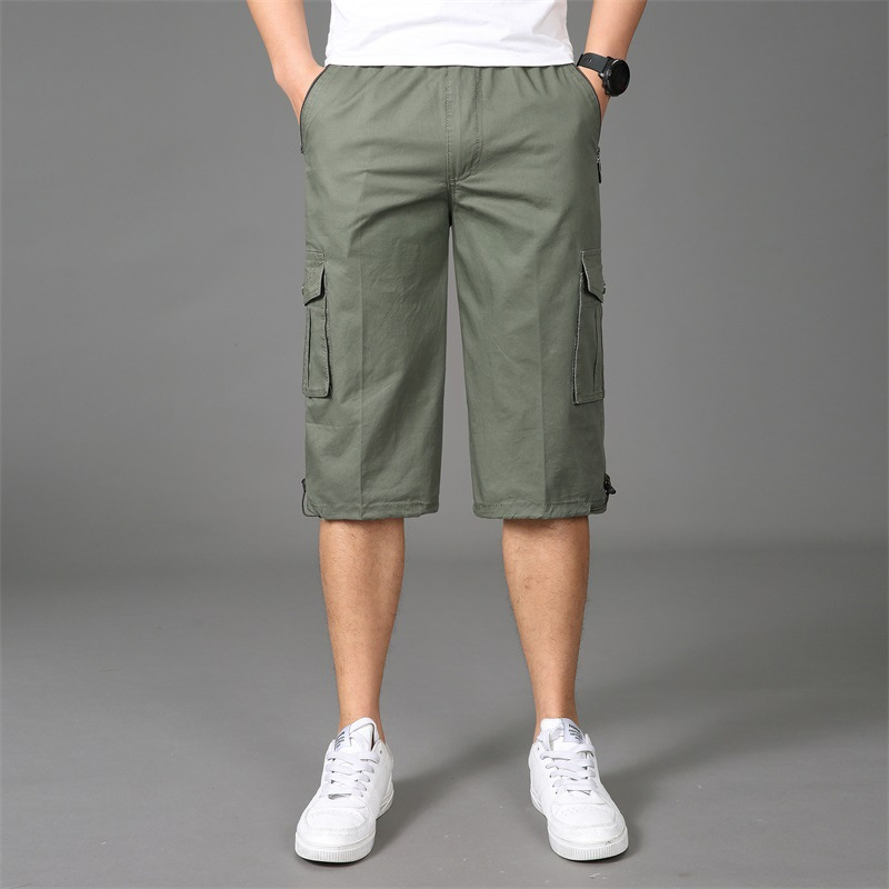 Mens Shorts 2019 Brand New Army Shorts Men Cotton Loose Work Casual Short Pants Plus Size