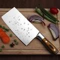 Нож для нарезки 4Cr13 супер острое лезвие кухонные ножи шеф-повара китайский кованый нож многофункциональные кухонные разделочные ножи клепа...