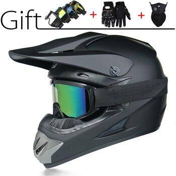 Casco de Moto rcycle de moto cicleta de ROAD casco de cara completa para moto Cruz casco de carreras para MTB DH