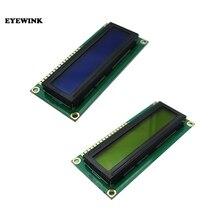 50個LCD1602 1602モジュールブルースクリーン16 × 2文字のlcdディスプレイモジュールHD44780コントローラーブルーブラックライト