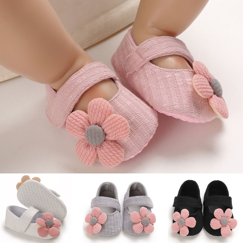 2020 Children First Walkers Baby Crib Summer Shoes Anti-slip Sneaker Non-slip Footwear Baby Girls Shoes