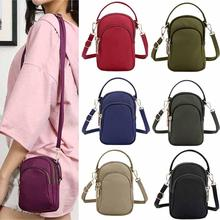 Women Messenger Bag Nylon Shoulder Mini For Phone And Cards Small Crossbody Bags With Handle