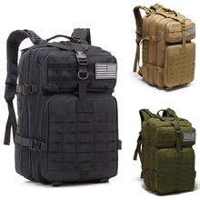 Military Backpack Outdoor Sport Large Capacity Man Tactical Army Bag 3P Travel Molle Pack for Camping Hiking Hunting Waterproof 3p 50l tactical military army outdoor bag women men camping backpacks hiking sports molle pack climbing backpack oxford rucksack