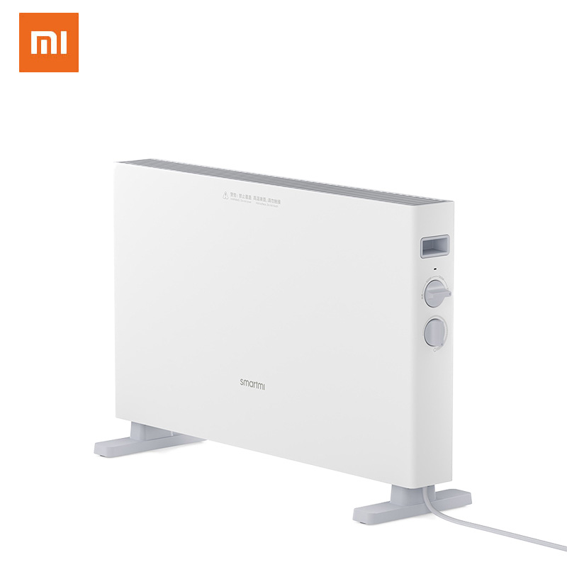 Xiaomi Smartimi Electric Heater 1S Fast Handy Heaters For Home Room Fast Convector Fireplace Fan Wall Warmer Silent