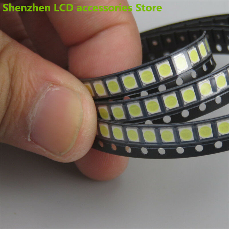 lowest price 300Pieces lot  FOR maintenance Konka Changhong Amoi LCD TV backlight LED lights with the East Bay 2835 SMD LED beads 6V  100percentNEW