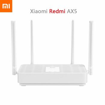 Xiaomi Redmi AX5 Wifi Router Dual Band Dual Core 2.4G 5Ghz 802.11ac High Gain 4 Antennas Remote APP Control