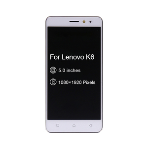"""Image 3 - 5"""" For Lenovo K6 Power LCD Display Touch Screen Digitizer Assembly With Frame K33a42 k33a48 For Lenovo K6 Screen Free Shipping"""