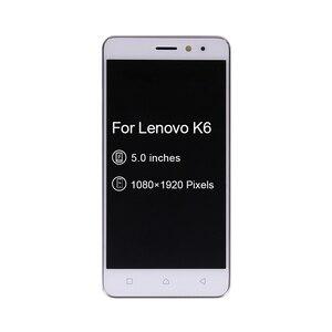 "Image 3 - 5 ""레노버 K6 파워 LCD 디스플레이 터치 스크린 디지타이저 어셈블리 프레임 K33a42 k33a48 레노버 K6 스크린 무료 배송"