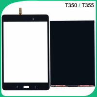 Tested T350 Touch Screen For Samsung Galaxy Tab A SM T355 LCD Display Touch Sensor Front Glass Lens Digitizer Panel