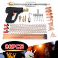 86 teile/satz Auto Body Dent Repair Puller Kit Dent Spot Reparatur Entfernung Gerät Stud Mini Schweißen Maschine Ziehen Hammer Werkzeug kit-in Blechwerkzeug-Set aus Kraftfahrzeuge und Motorräder bei