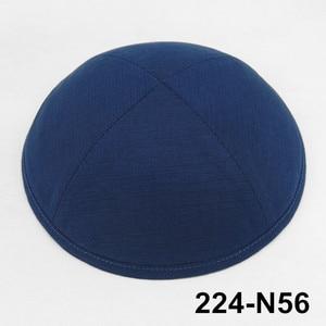 Image 1 - カスタム製品 19 センチメートル KippotKippaYarmulke Kipa ユダヤ人キャップ kippah kullies ビーニーユダヤ人帽子スカルキャップ