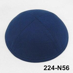 Image 1 - Пользовательские продукты 19 см Кепка KippotKippaYarmulke Kipa Иудейская Кепка kippah killies Beanies еврейская шляпа Кепка с черепом