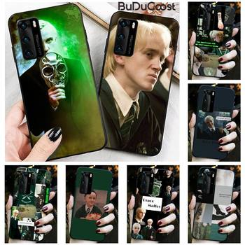 Diseny Draco Malfoy Phone Case for Huawei P20 P30 P20Pro P20Lite P30Lite P10 P Smart plus P10Lite P40 Pro P40 lite image