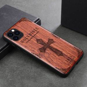 Image 5 - Phone Case For iPhone 11 iPhone11 Pro Original Boogic Wood TPU Case For iPhone XR XS Max 8 7 6 6s plus SE 2 Phone Accessories