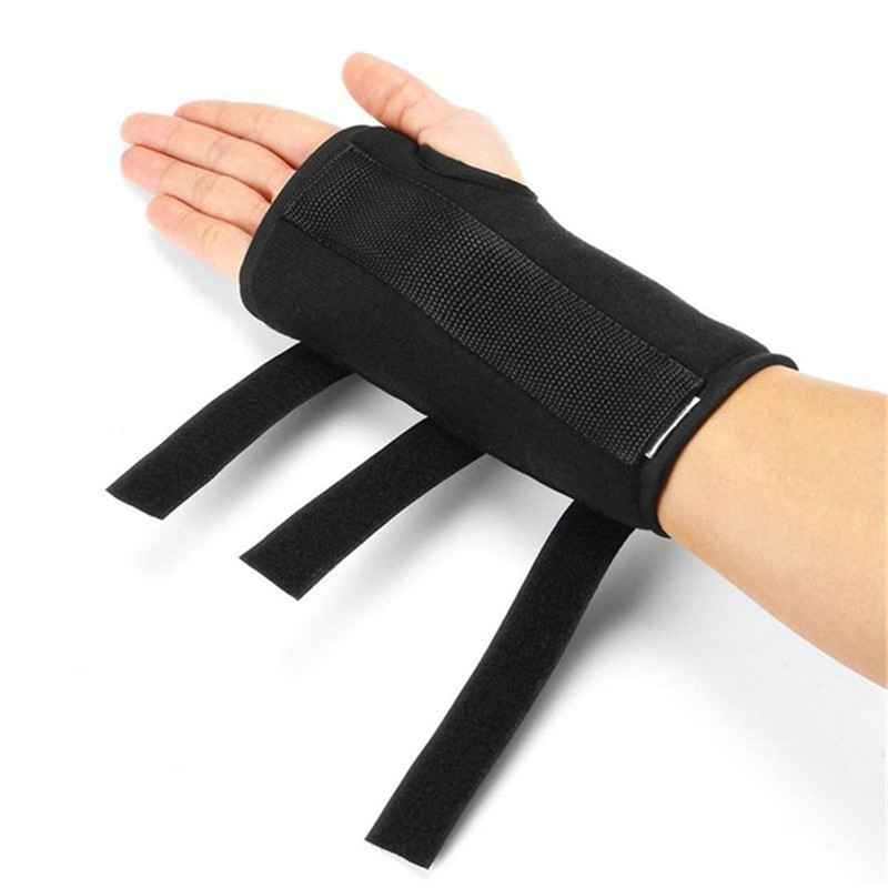 1PC New Finger Hand Recovery Grip Impairment Fixed Hand Rehabilitation Belt Wrist Rehabilitation Auxiliary Gloves Splint