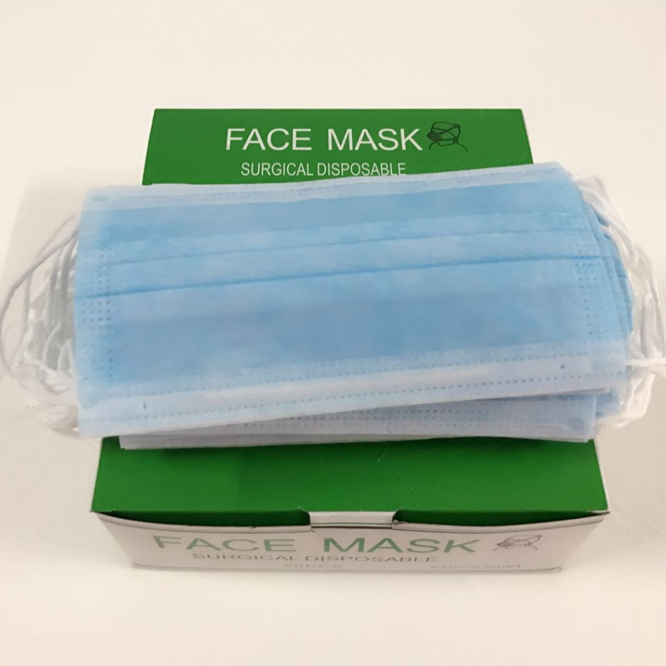 Disposable Mask Manufacturers Direct Selling Three Layer Non-woven Dust Mask Medical Use Industrial Catering Services Face Mask