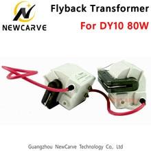 80 w alta tensão flyback transformador para reci dy10 co2 fonte de alimentação do laser newcarve