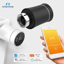 Zigbee Thermostat Termostato Alexa Smart Radiator Valve Wifi Smart Thermostat Vanne Thermostatique Tuya Valve TRV