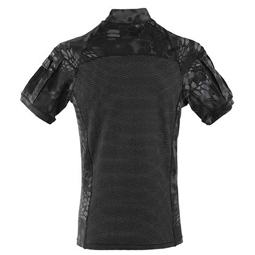 Verão 2020 notícias das mulheres dos homens camisas de combate sapo terno do exército soldado treinamento uniforme militar disfarce tático trabalho roupas