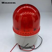 Zusen TB72D 220 فولت ضوء وماض صغير الأمن صفارة تنبيه بالوميض ضوء إشارة تحذير LED مصباح