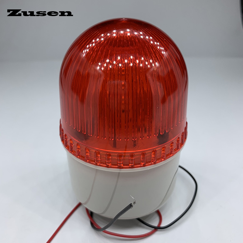 Zusen TB72D 220V  Small Flashing Light Security Alarm Strobe Signal Warning Light LED Lamp