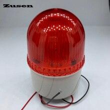 Zusen tb72d 220 v pequeno piscando luz de segurança alarme strobe sinal luz de advertência lâmpada led