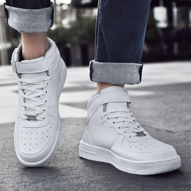 New Style Board Shoe, White Male Shoe, Street Tide Shoe, Wear Joker Male Shoe Everyday, Youth Shoe, Sweetheart Shoe,size 48 Shoe