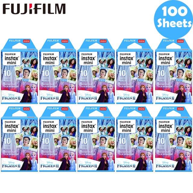 10 100枚富士フイルムインスタックスミニフィルムインスタックスミニ11 8 9ブルー凍結膜用ミニ7s 25 26 70 90インスタントカメラSP 1 2
