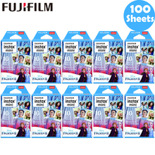 10 100 ورقة فوجي فيلم Instax فيلم صغير Instax Mini 11 8 9 فيلم المجمدة الأزرق ل فوجي Mini 7s 25 26 70 90 كاميرا فورية SP 1 2