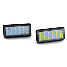 2Pcs Car Styling No Error LED Rear Number Plate Light Auto License Lamp for Lexus LX470 GX470 Toyota Land Cruiser Reiz 13 pieces chrome handle bowl mirror cover side lamp fuel tank cap 1998 2007 for toyota land cruiser 100 lexus lx470 accessories